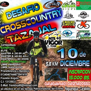 Desafío Cross Country Tazajal